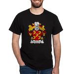 Medeiros Family Crest Dark T-Shirt