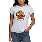Medeiros Family Crest Women's T-Shirt
