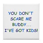 PARENTING HUMOR Tile Coaster