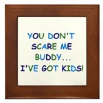 PARENTING HUMOR Framed Tile