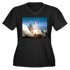 Space Shuttle Columbia KSC Plus Size T-Shirt