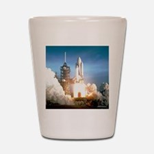 Space Shuttle Columbia KSC Shot Glass