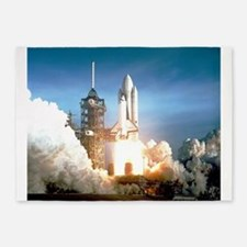 Space Shuttle Columbia KSC 5'x7'Area Rug