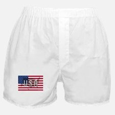 USA Flag Extra Boxer Shorts