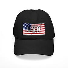 USA Flag Extra Baseball Cap