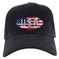 USA Flag Extra Baseball Hat