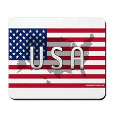 USA Flag Extra Mousepad