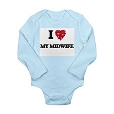 I Love My Midwife Body Suit