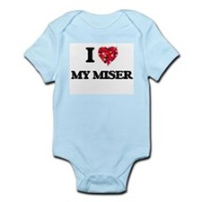 I Love My Miser Body Suit