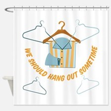 Hang Out Shower Curtain