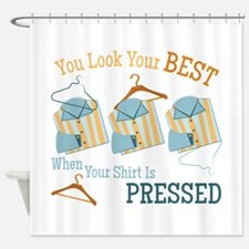 Look Your Best Shower Curtain