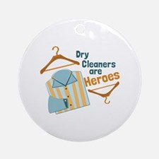 Dry Cleaners Ornament (Round)