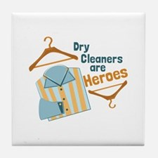 Dry Cleaners Tile Coaster
