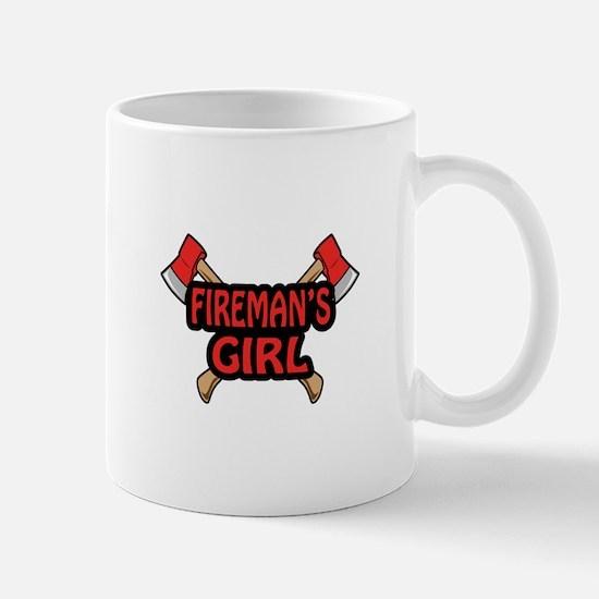 FIREMANS GIRL Mugs