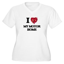 I Love My Motor Home Plus Size T-Shirt