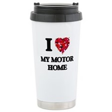 I Love My Motor Home Travel Mug