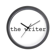 The writer Wall Clock