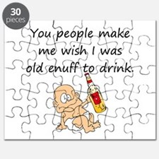 OLD ENUFF TO DRINK Puzzle