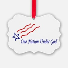 One Nation Star Ornament