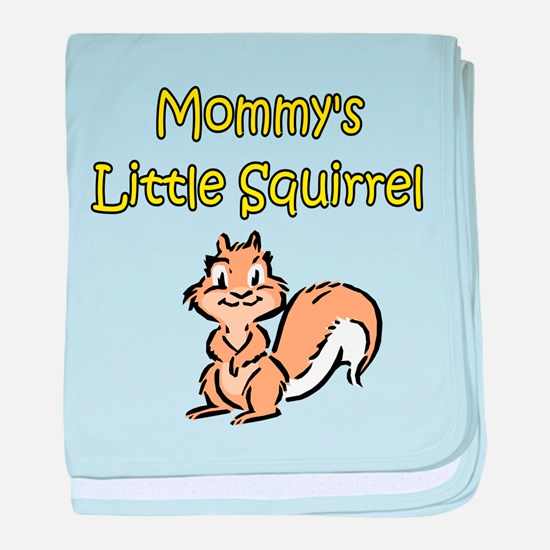 MOMMY'S LITTLE SQUIRREL baby blanket