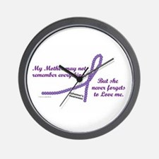 Never Forgets To Love (Mother) Wall Clock