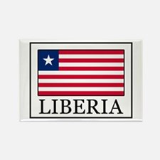 Liberia Rectangle Magnet