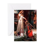 The Accolade & Basset Greeting Card