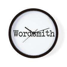 Wordsmith Wall Clock