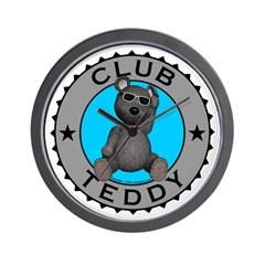 Club Teddybear Clock