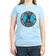 Women's Club Teddybear T-Shirt Light Colored