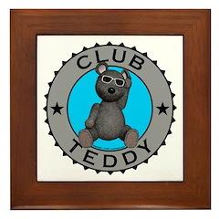 Club Teddybear Framed Tile