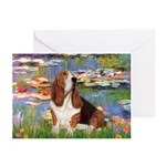 Lilies & Basse Greeting Cards (Pk of 20)