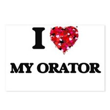 I Love My Orator Postcards (Package of 8)
