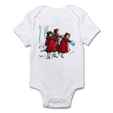 VICTORIAN ICE SKATERS Infant Bodysuit