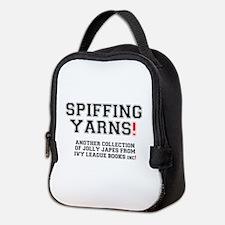 SPIFFING YARNS - IVY LEAGUE BOO Neoprene Lunch Bag