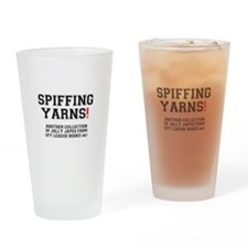 SPIFFING YARNS - IVY LEAGUE BOOKS Drinking Glass