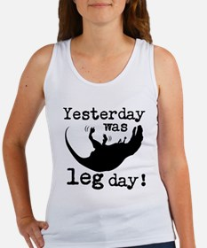 T-Rex. Yesterday Was Leg Day! Tank Top