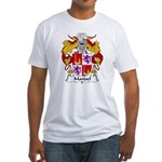 Manuel Family Crest Fitted T-Shirt