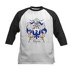 Manso Family Crest Kids Baseball Jersey