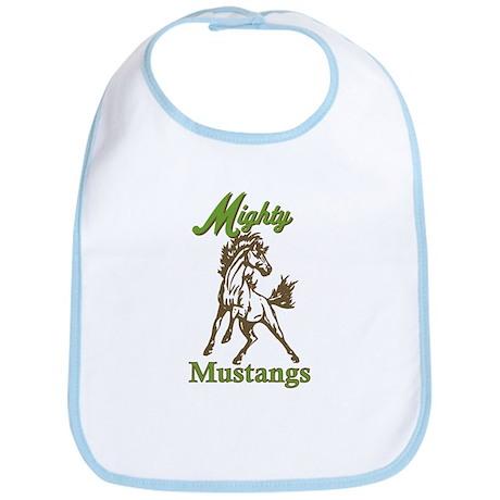 Mighty Mustangs Bib
