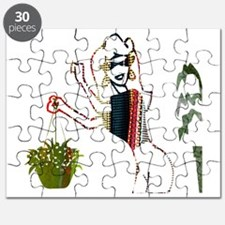 The Lady and Her Plants Puzzle