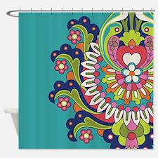 Durga 3 Shower Curtain