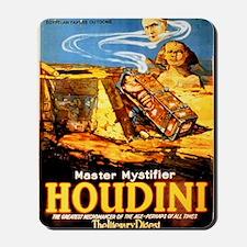 Master mystifier Houdini Rare Vintage Mousepad