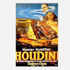 Master mystifier Houdini  Postcards (Package of 8)