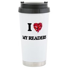 I Love My Readers Travel Mug