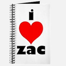 I Love Zac Journal