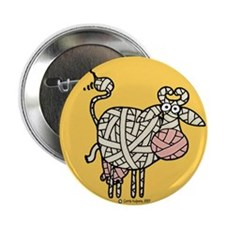 """Moo-mmy 2.25"""" Button (10 pack)"""