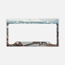 Pittsburgh Pennsylvania 1902 License Plate Holder