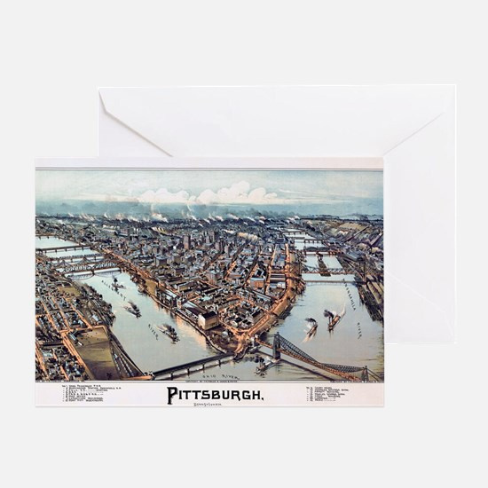 Pittsburgh Pennsylvania 1902 Greeting Card