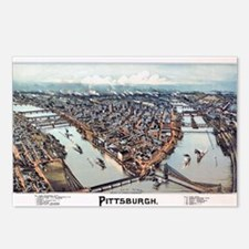 Pittsburgh Pennsylvania 1 Postcards (Package of 8)